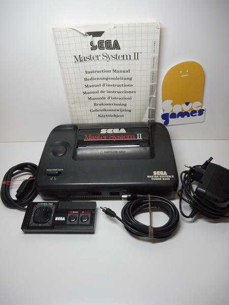 Sega master system ii boxed save games - Console sega master system 2 ...