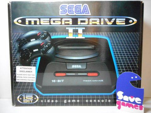 Sega Mega Drive II + Game Adaptor + 2 Control Pad + 2 Games-14