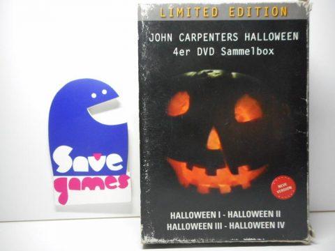 John Carpenters Halloween 4er DVD Sammelbox