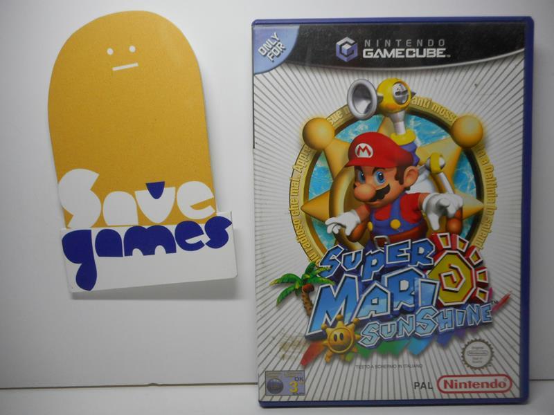 Super Mario Sunshine Save Games