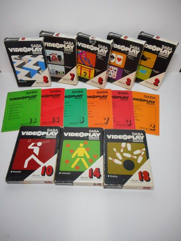 saba videoplay 2 system fairchild 8 games save games. Black Bedroom Furniture Sets. Home Design Ideas