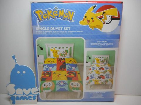 Pokemon Single Rotary Duvet Set