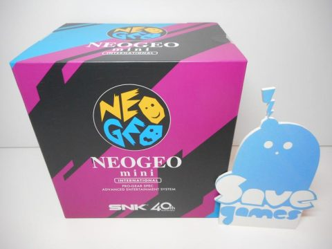 SNK NeoGeo Mini 40th Anniversary Console