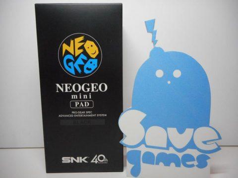 SNK NeoGeo Mini Pad Black