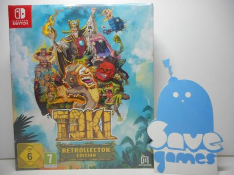 Toki Retrollector Edition