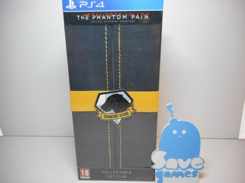 Metal Gear Solid V Thee Phantom Pain Collectors Edition