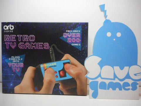 Retro TV Games Console