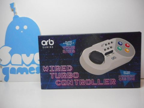 Wired Turbo Controller SNES