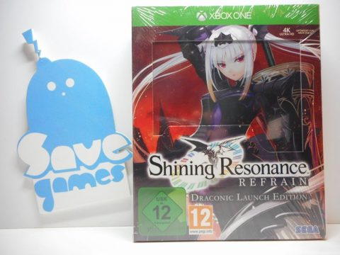 Shining Resonance Redrain Draconic Launch Edition