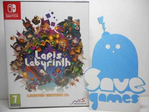 Lapis Labyrinth Limited Edition Switch
