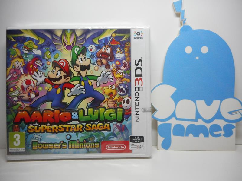 Mario Luigi Superstar Saga Bowser S Minions Save Games