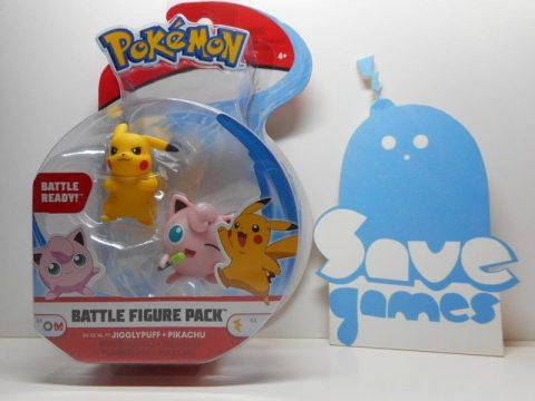 Pokemon Battle Figure Pack Jigglypuff + Pikachu