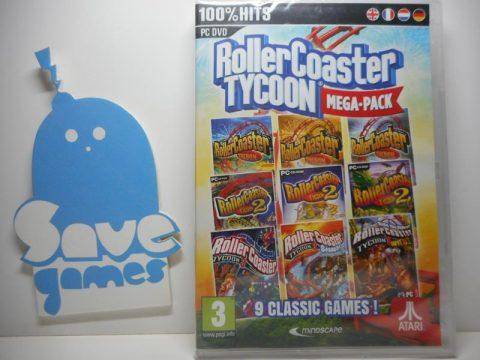 Rollercoaster Tycoon Mega-Pack