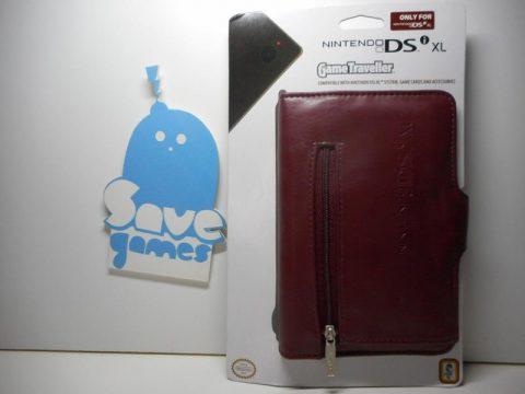 DSi XL Carry Case Game Traveller Brown