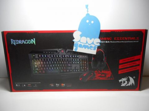 Redragon Gaming Combo 4 in 1 PC Keyboard – Mouse – MousePad – Headset