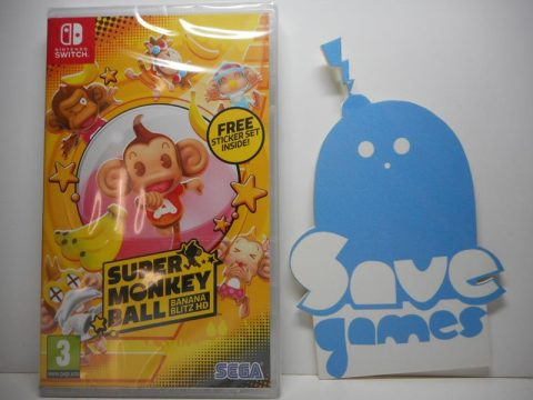 Super Monkey Ball Banana Blitz HD Switch