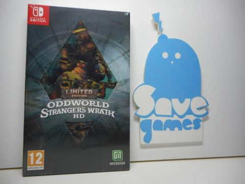 Oddworld Strangers Wrath HD Limited Edition Switch