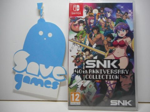SNK 40th Anniversary Collection Switch