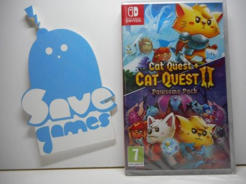 Cat Quest 1 e 2 Pawsome Pack Switch