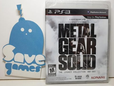 Metal Gear Solid The Legacy Collection 1897-2012 PS3